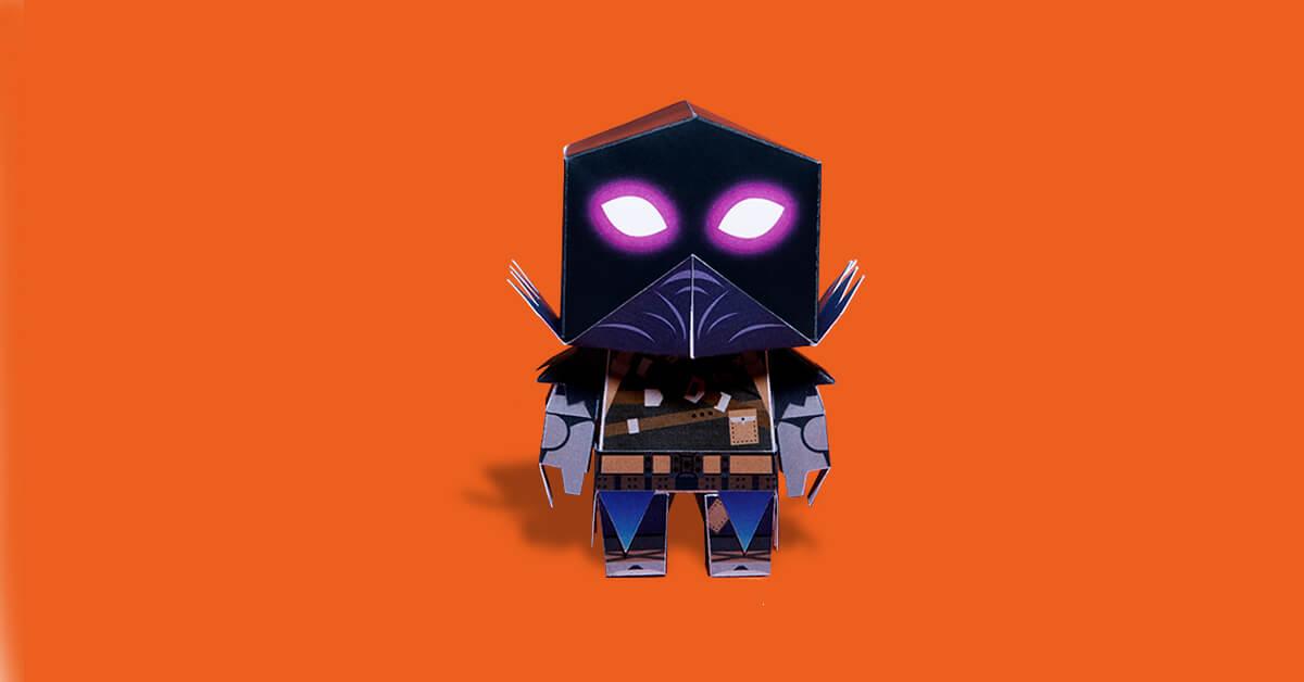 Miniatura plegable de Raven