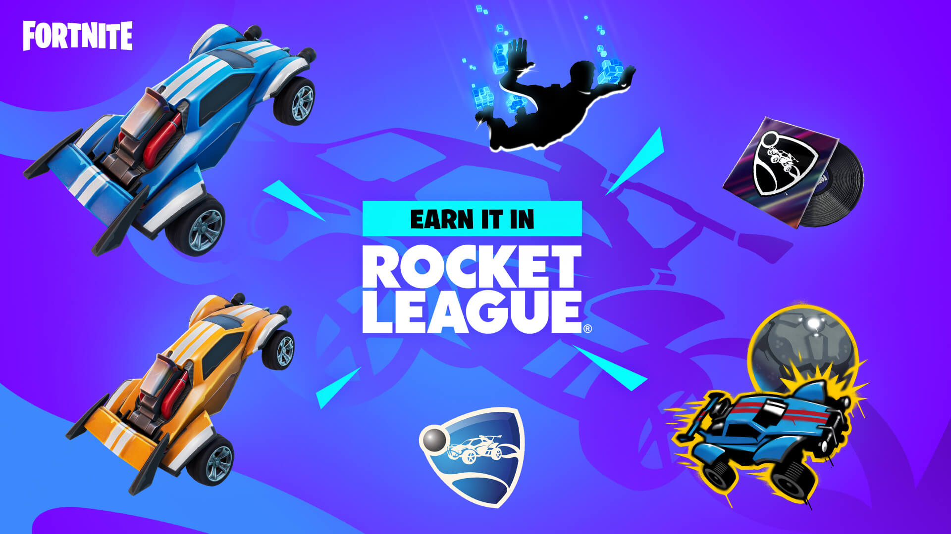Llama-Rama Brings Fortnite and Rocket League Together!