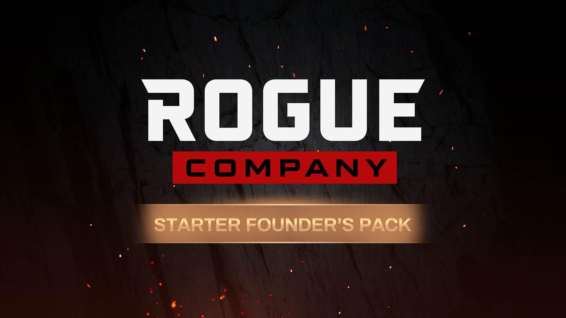 Rogue Company: paquete de fundador de inicio