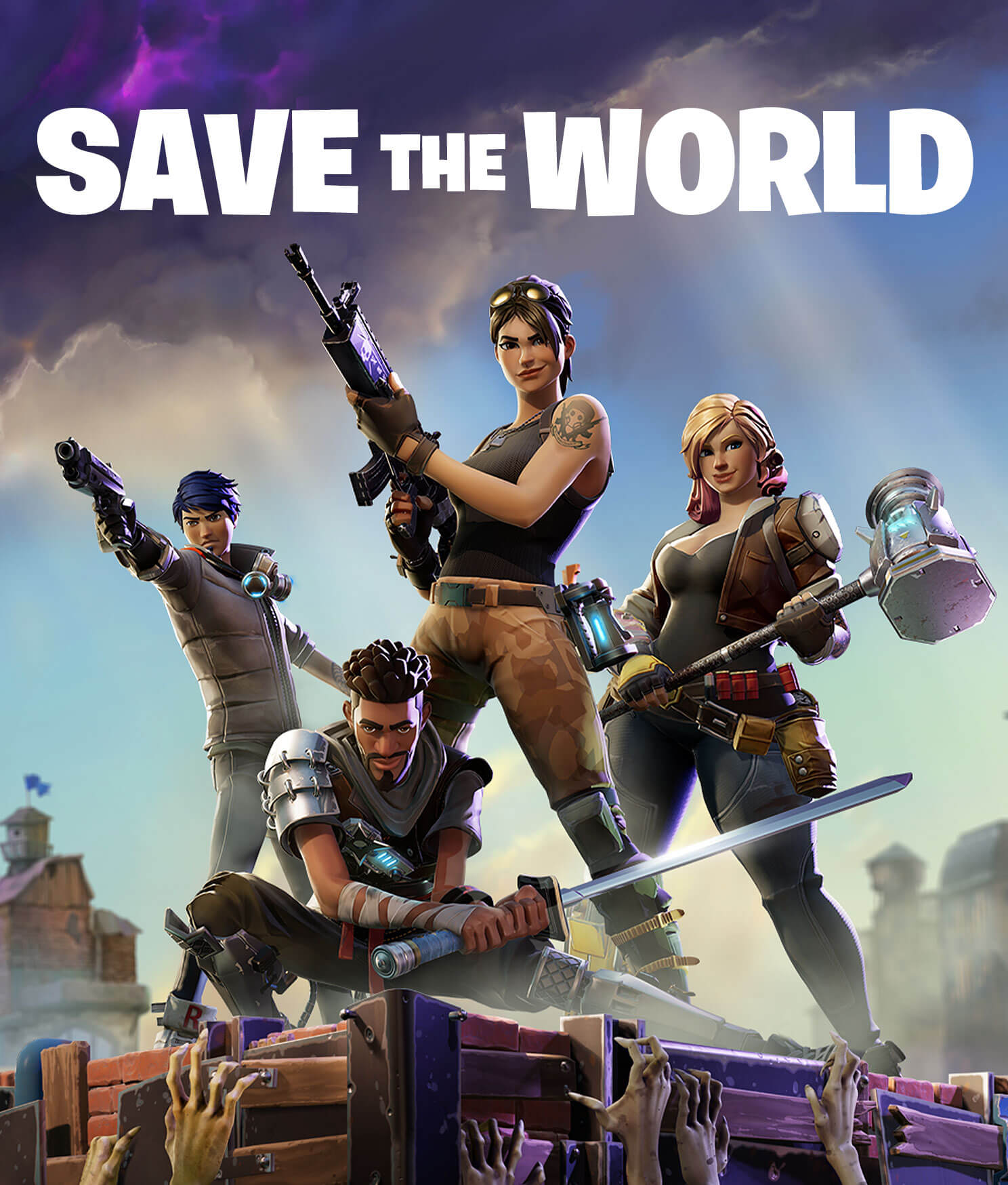 Fortnite Save the World | PvE Action-Building Co-Op Campaign - Fortnite