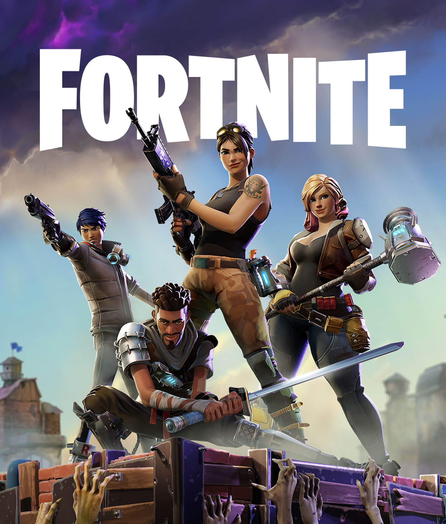 Fortnite Save The World Pve Action Building Co Op Campaign Fortnite