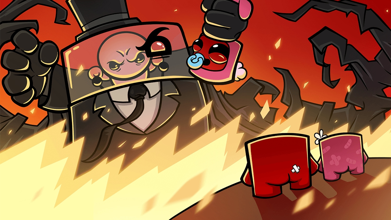 Super Meat Boy Forever available now on Epic Games Store