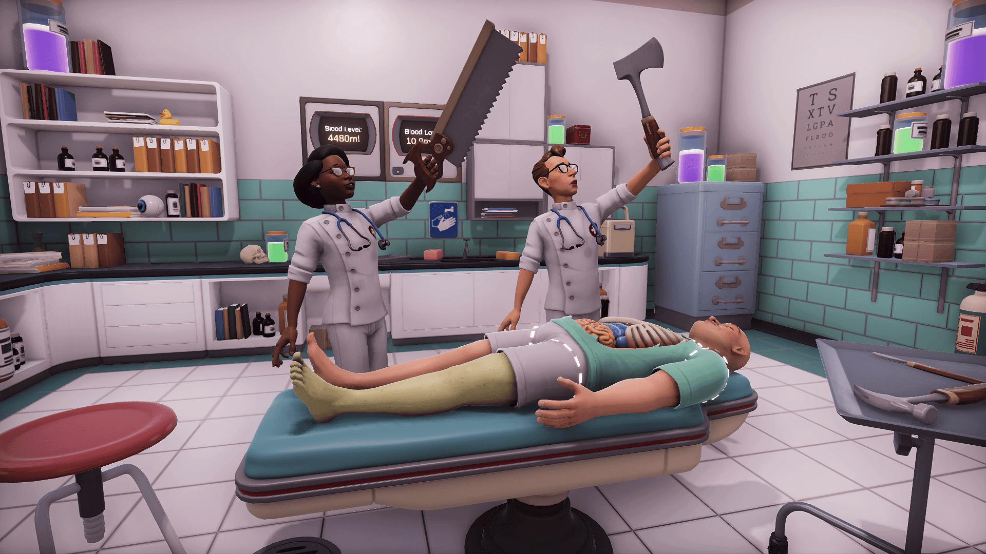 Reserve Agora O Surgeon Simulator 2 Para Acesso Ao Beta Fechado E Conteudo Exclusivo