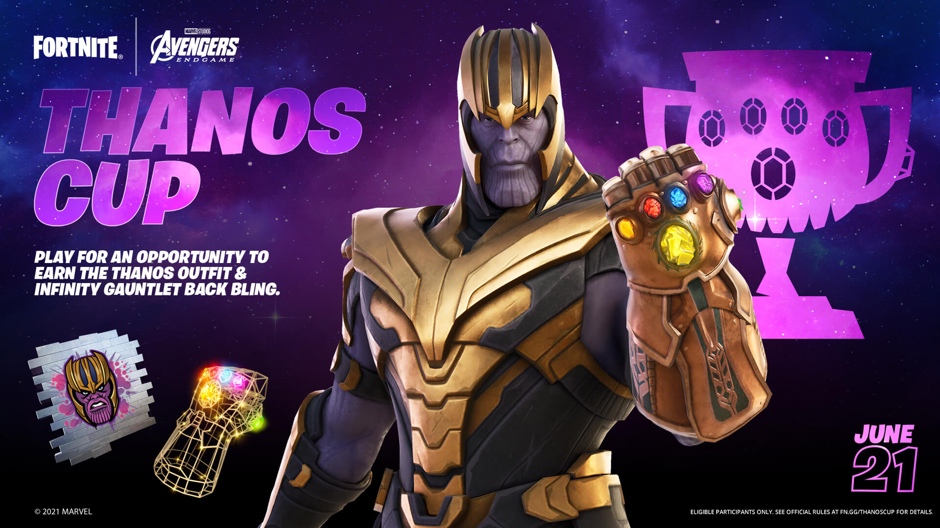 Thanos is Coming! Get Him First in the Thanos Cup