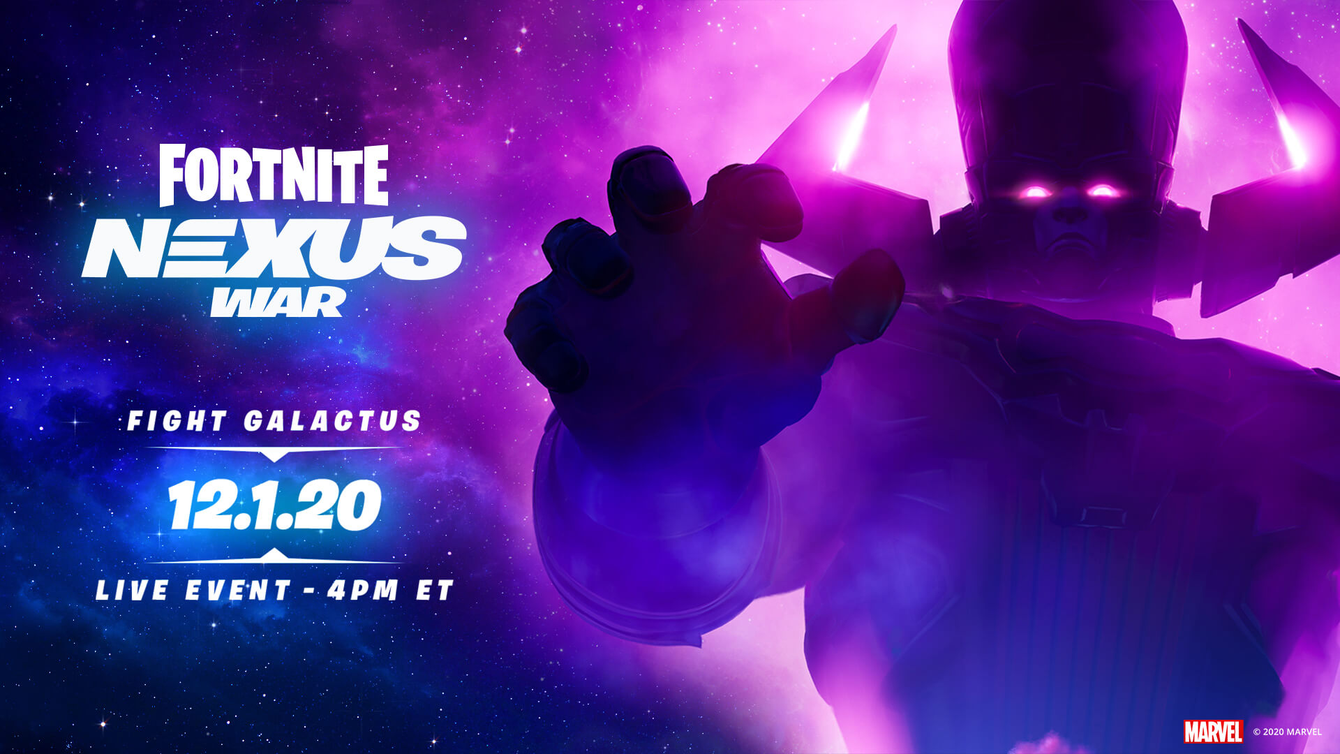 The Fortnite Galactus Event