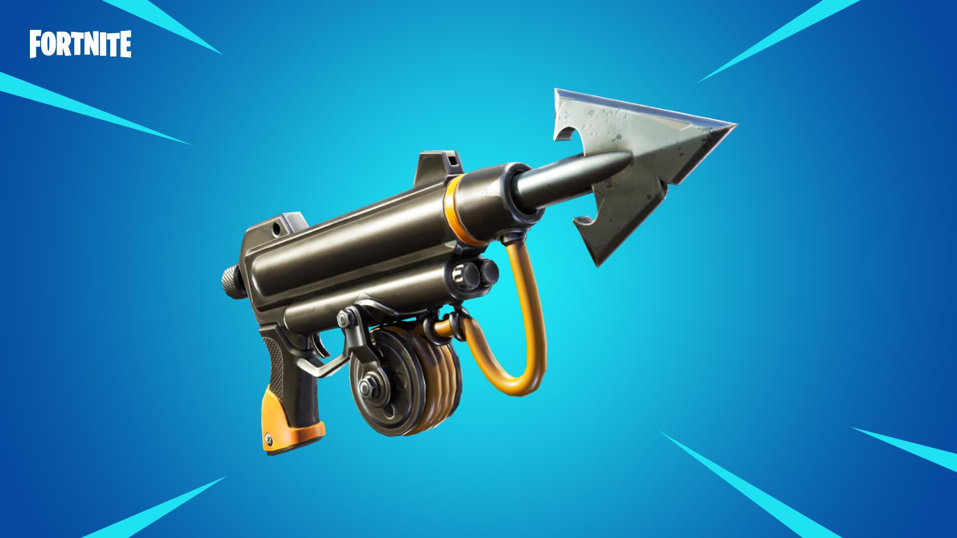 The Fortnite Harpoon Gun