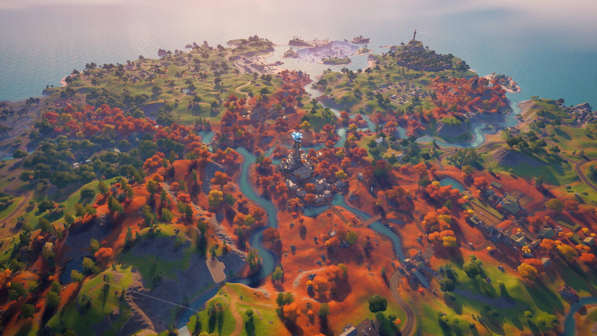 The Fortnite Island