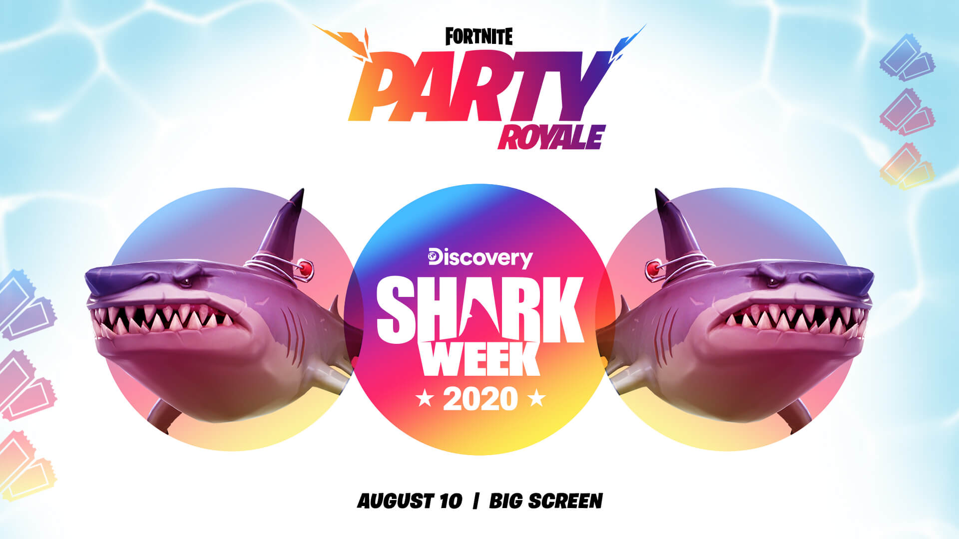 Tiger Shark King Fortnite Premiere