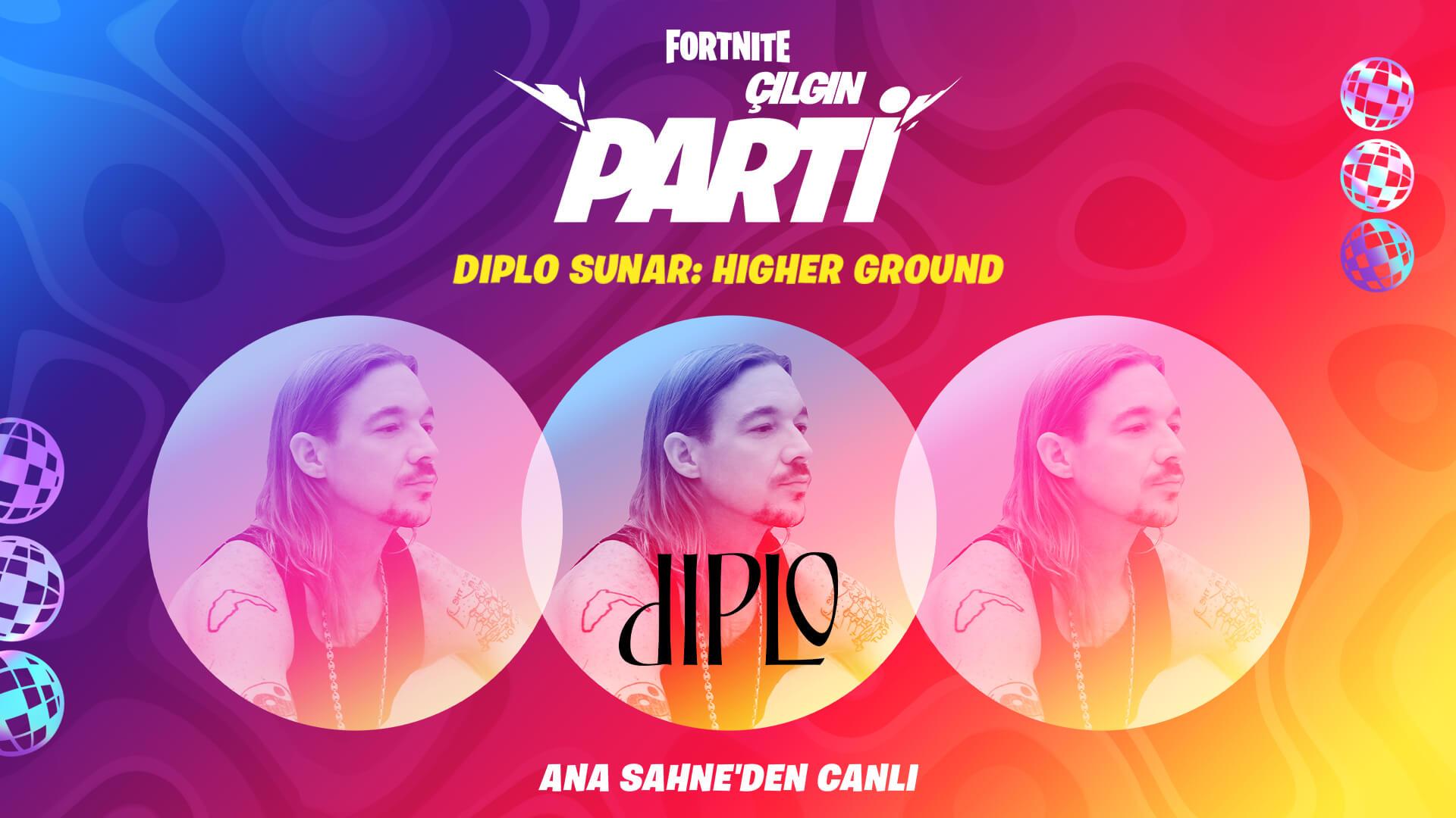 TR 13PR Diplo HigherGround Announce Social