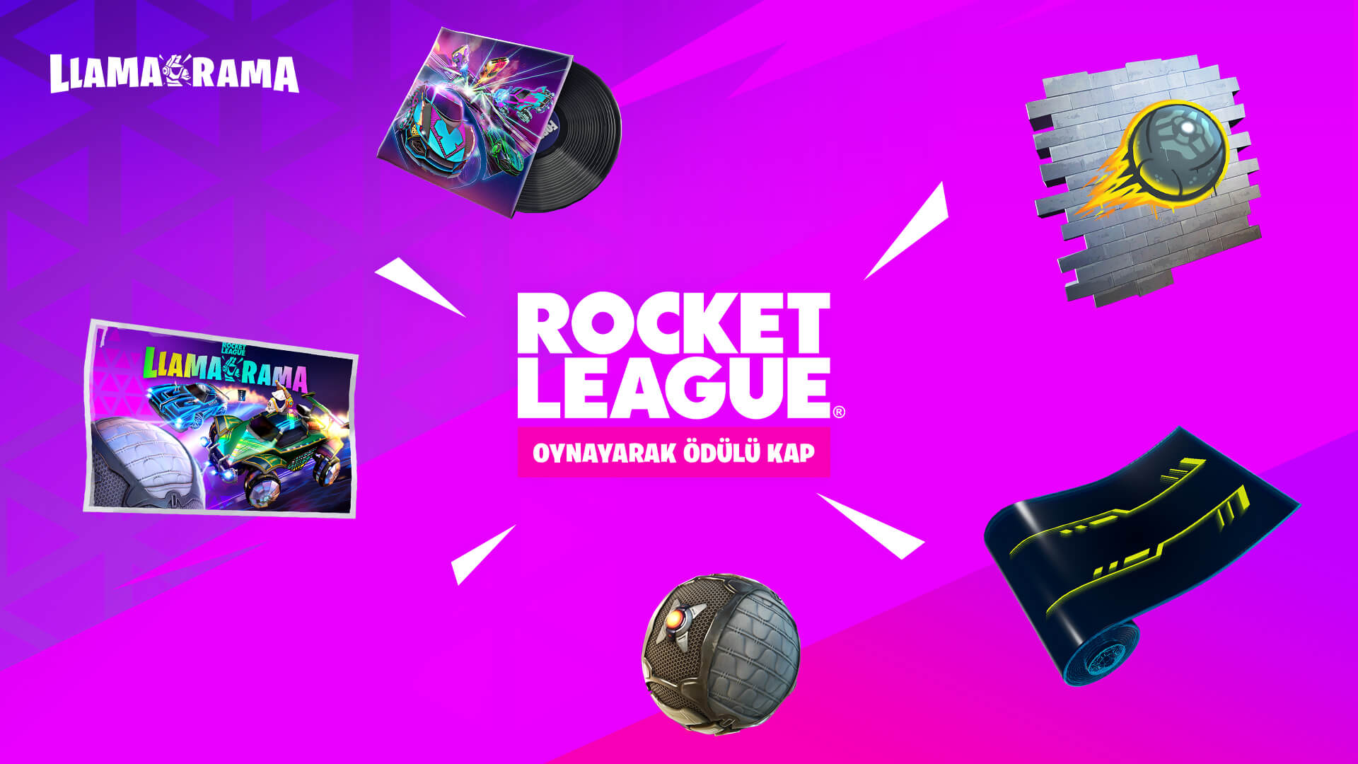 TR 16BR RocketLeague Llama Rama Rewards V2Social