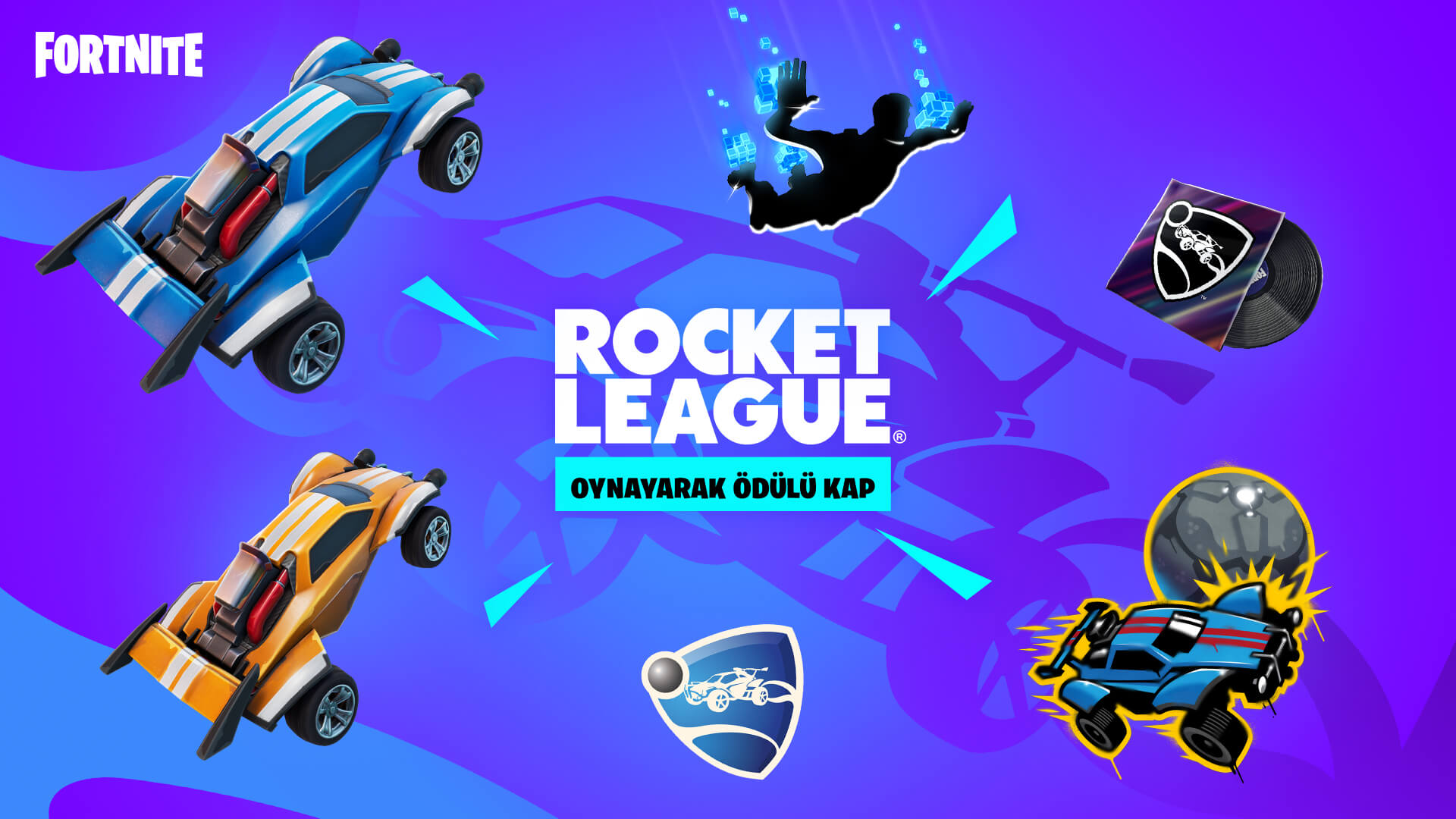 TR Rocket League Fortnite Challenges And Rewards