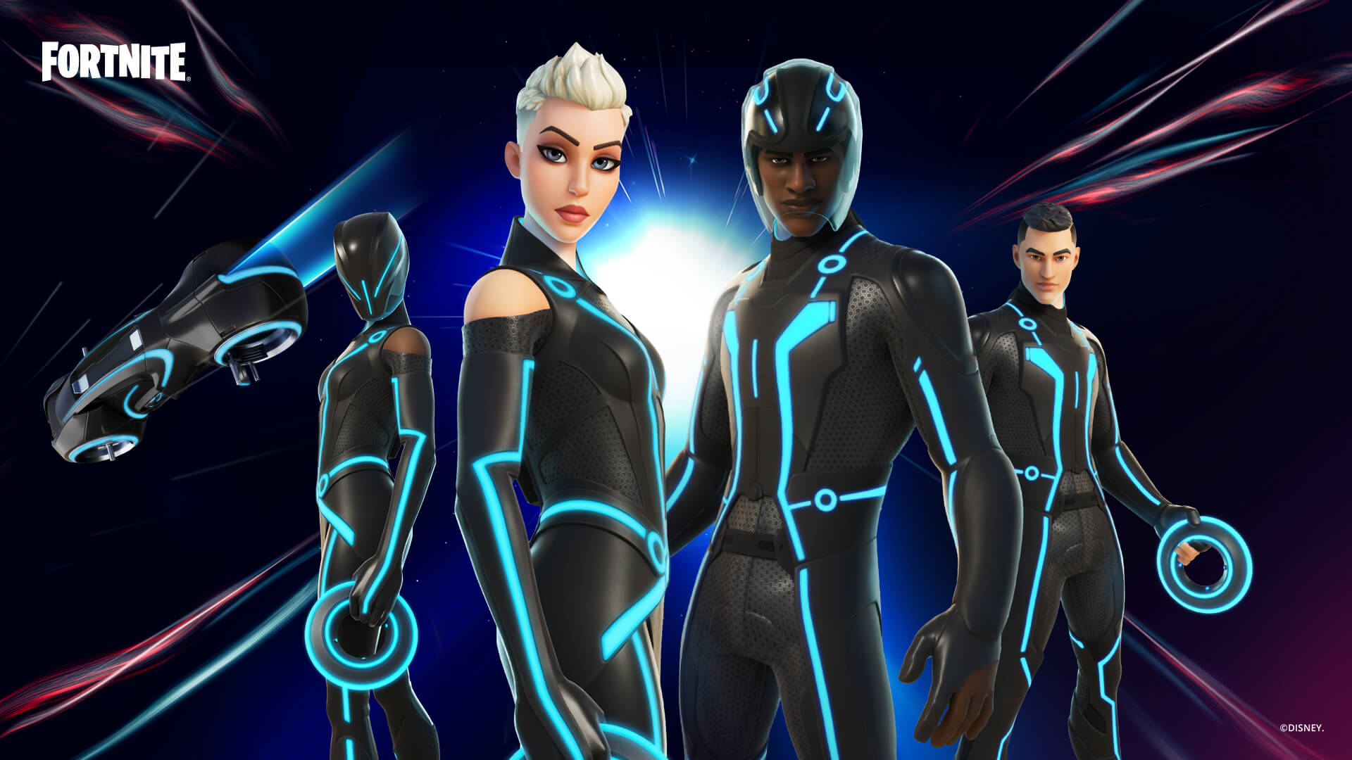 Tron Gear Arrives In Fortnite