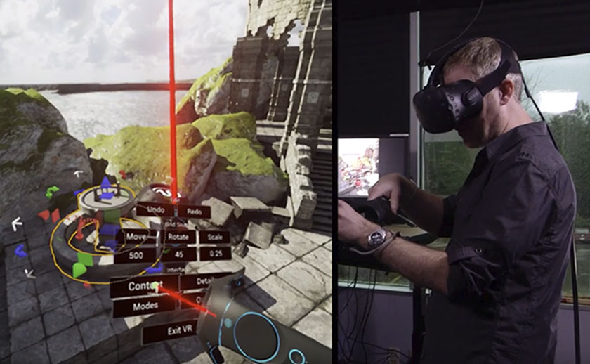 Build VR in VR