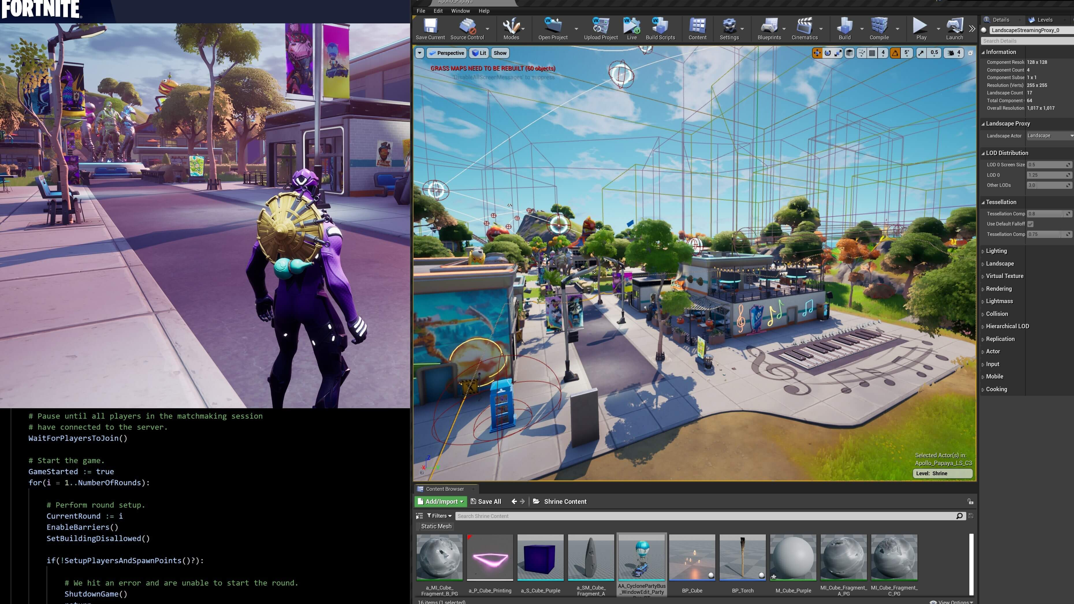 Unreal Engine Stream Creative Tools