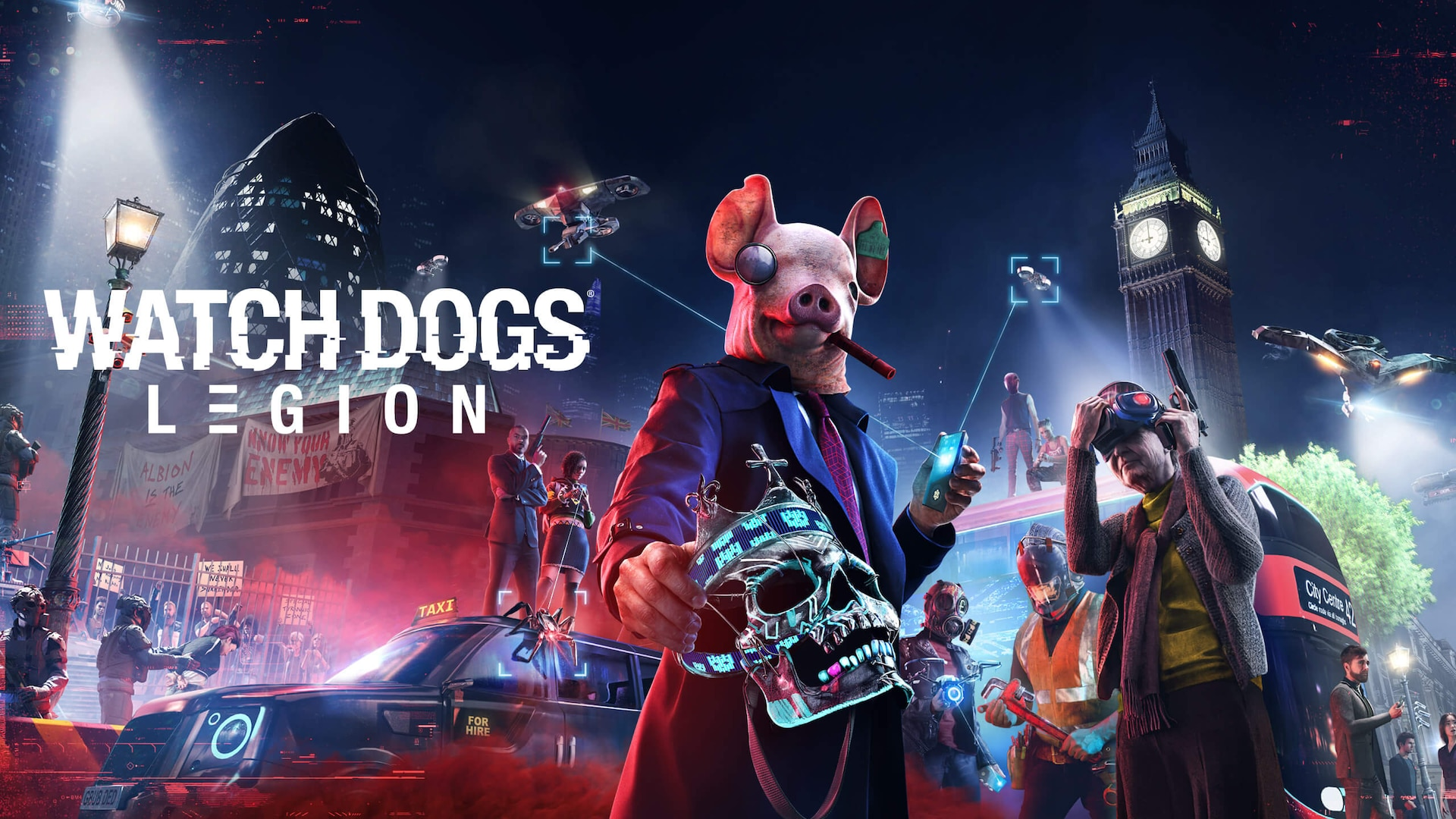 Play Watch Dogs Legion on Epic Games Store