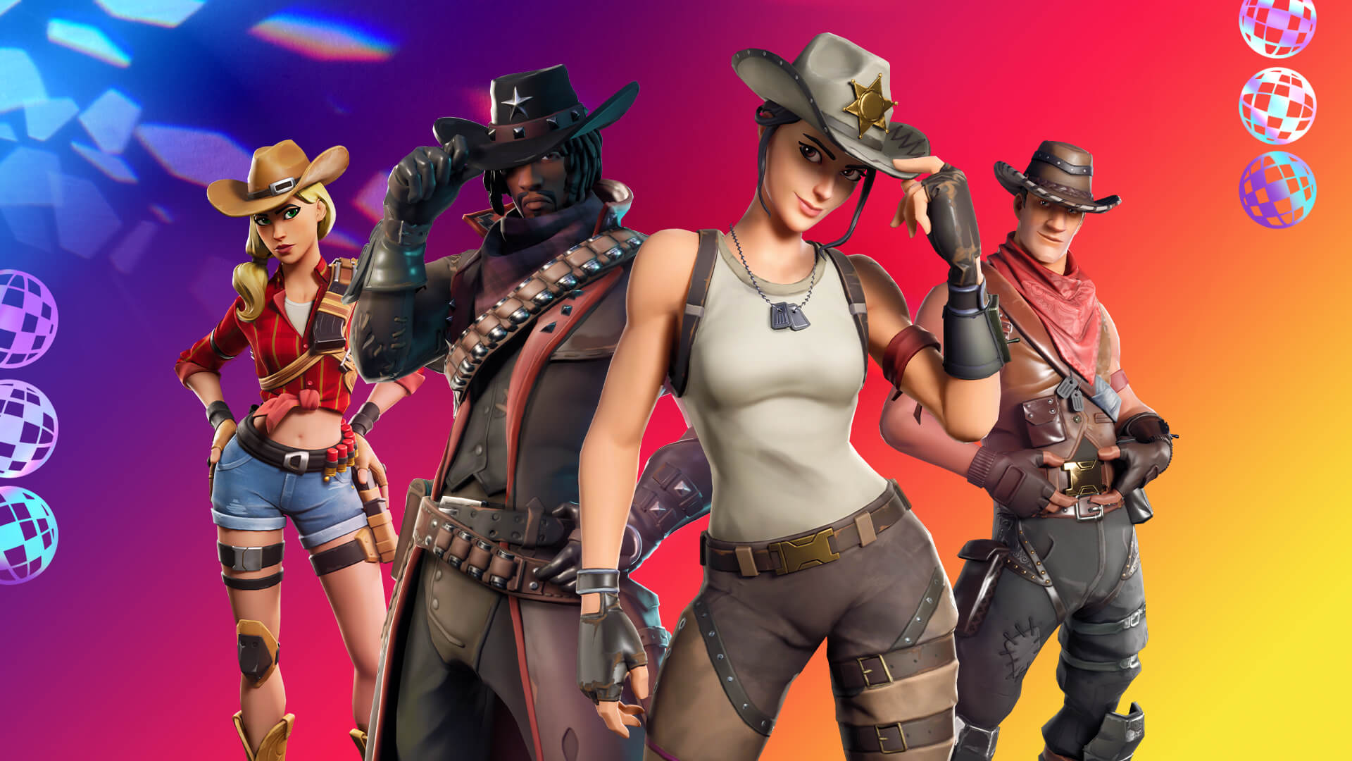 Western Themed Fortnite Items