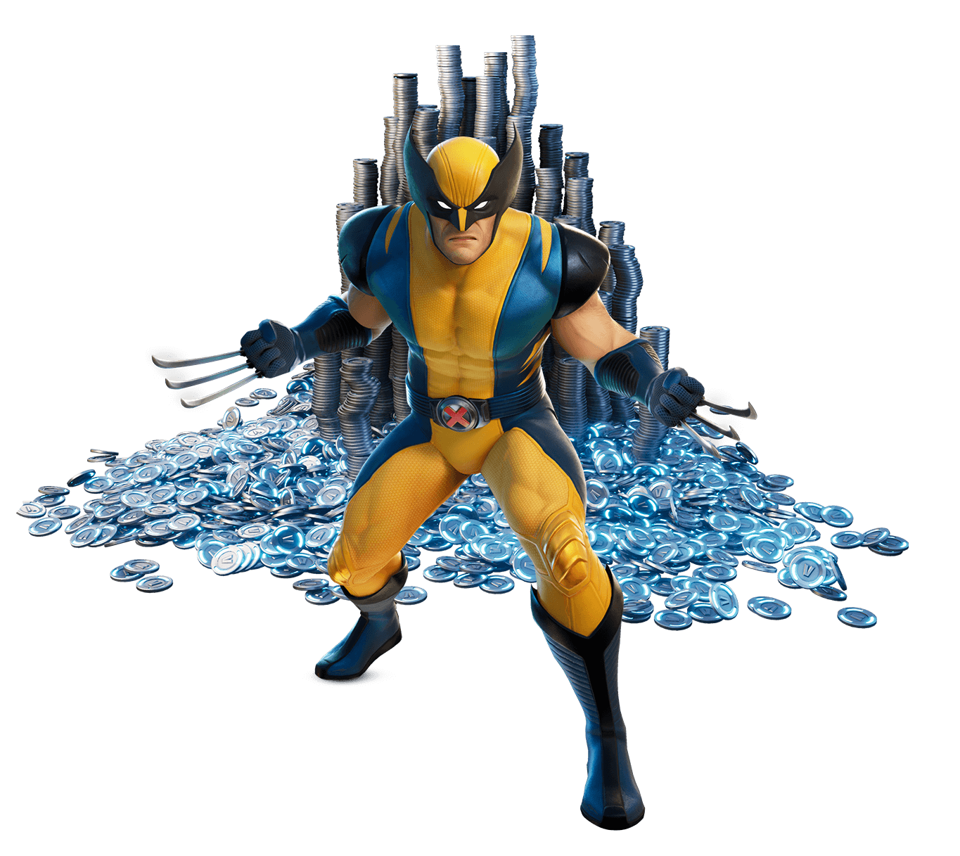Wolverine-Outfit in Fortnite